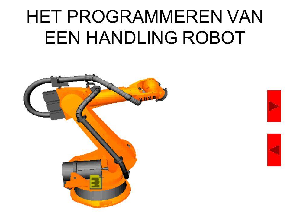 HET PROGRAMMEREN VAN EEN HANDLING ROBOT