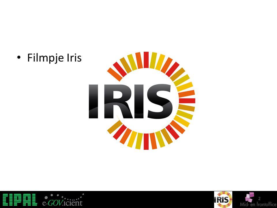 2 IRIS. Filmpje Iris