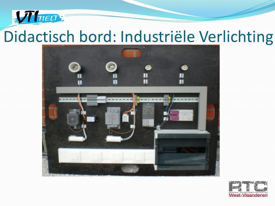 Didactisch bord: Industriële Verlichting