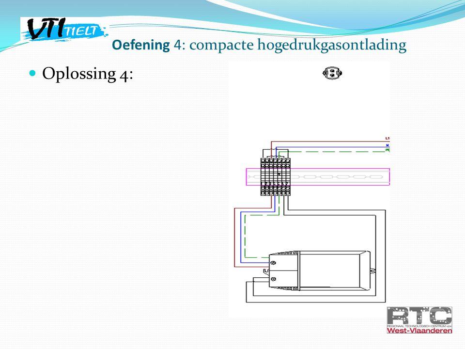 Oplossing 4: Oefening 4: compacte hogedrukgasontlading