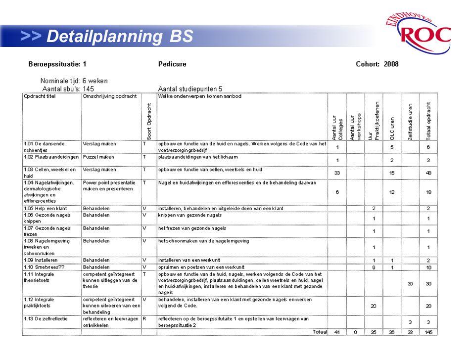 10 >> Detailplanning BS