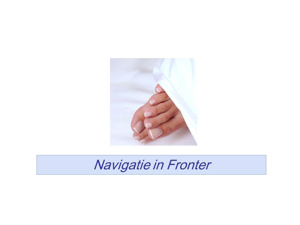 12 Navigatie in Fronter