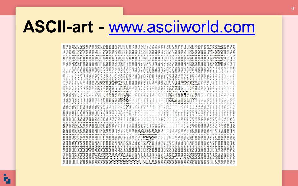 ASCII-art - www.asciiworld.comwww.asciiworld.com 9