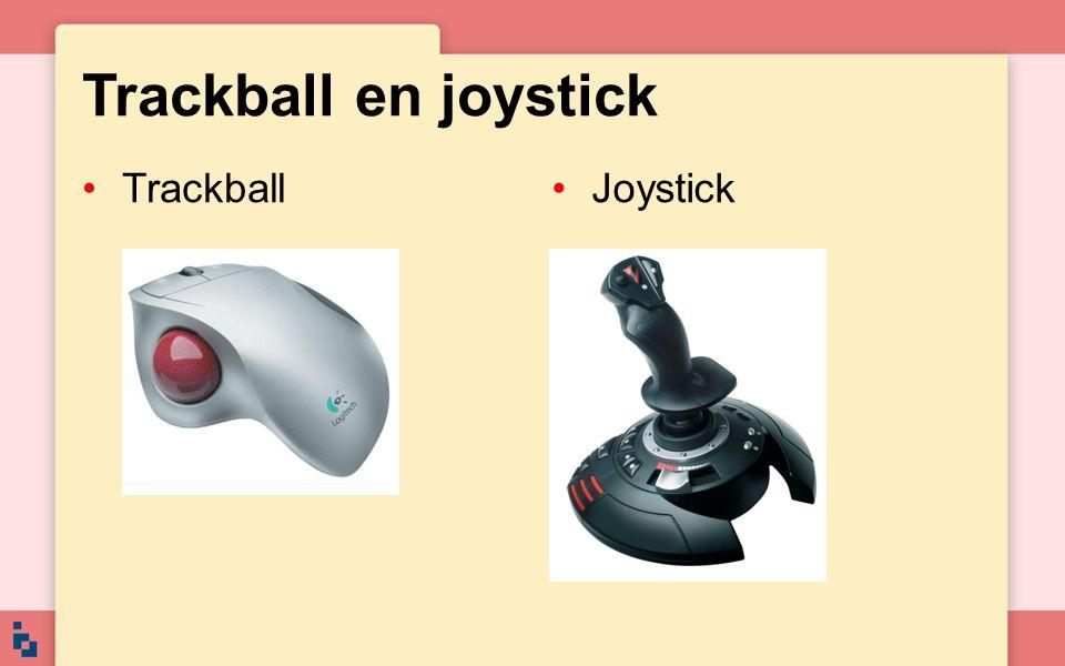 Trackball en joystick TrackballJoystick
