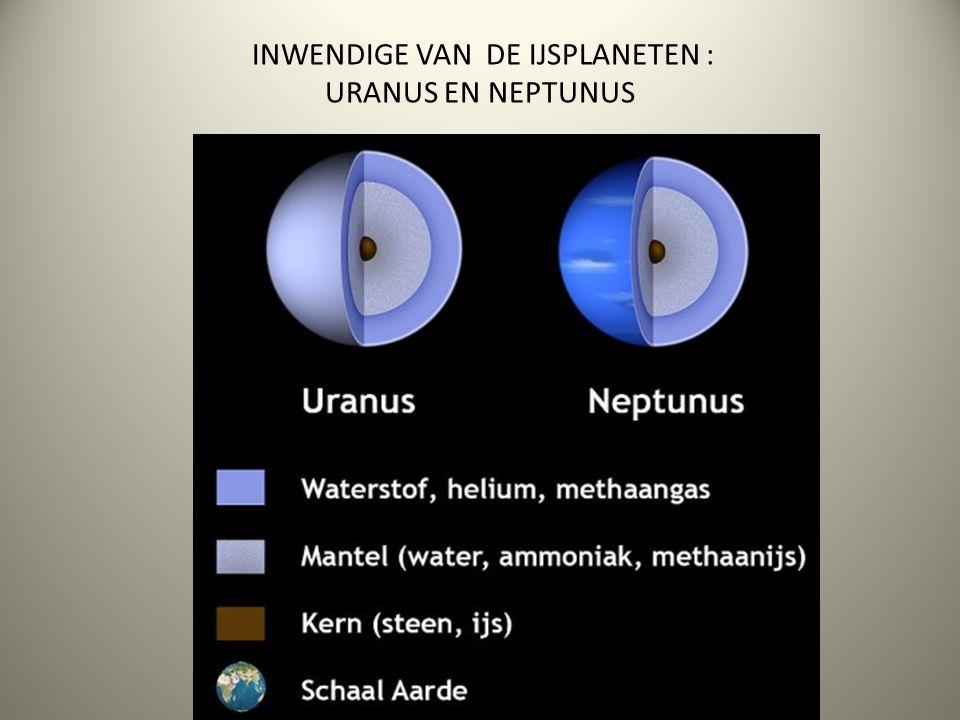 INWENDIGE VAN DE IJSPLANETEN : URANUS EN NEPTUNUS