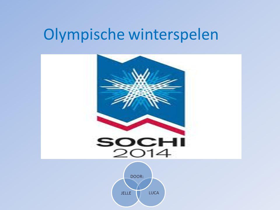 Olympische winterspelen JELLE LUCA DOOR: