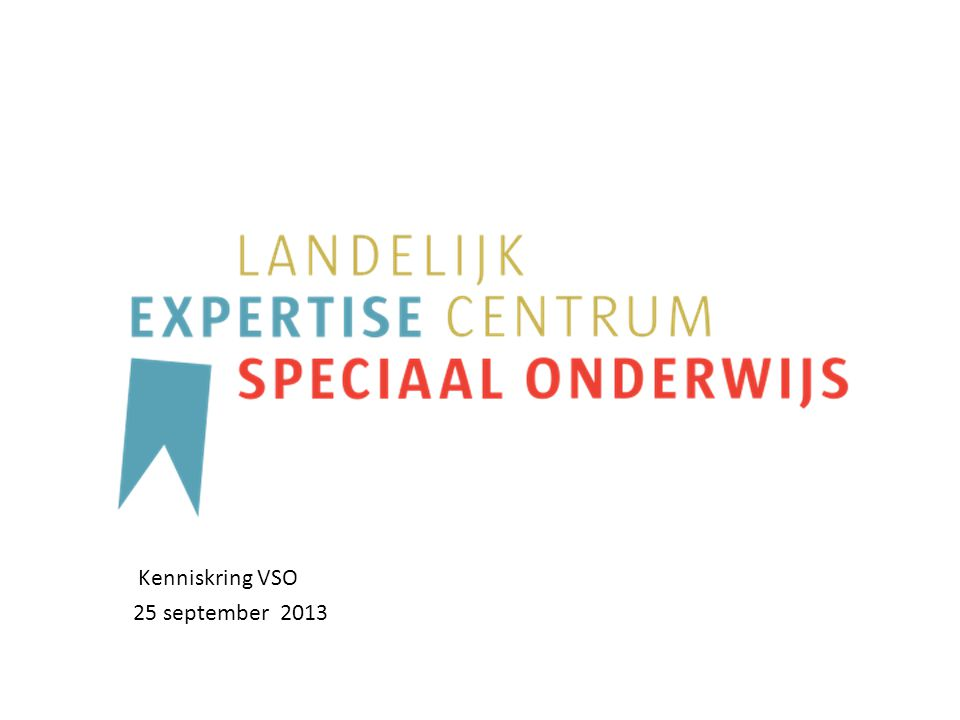 Kenniskring VSO 25 september 2013