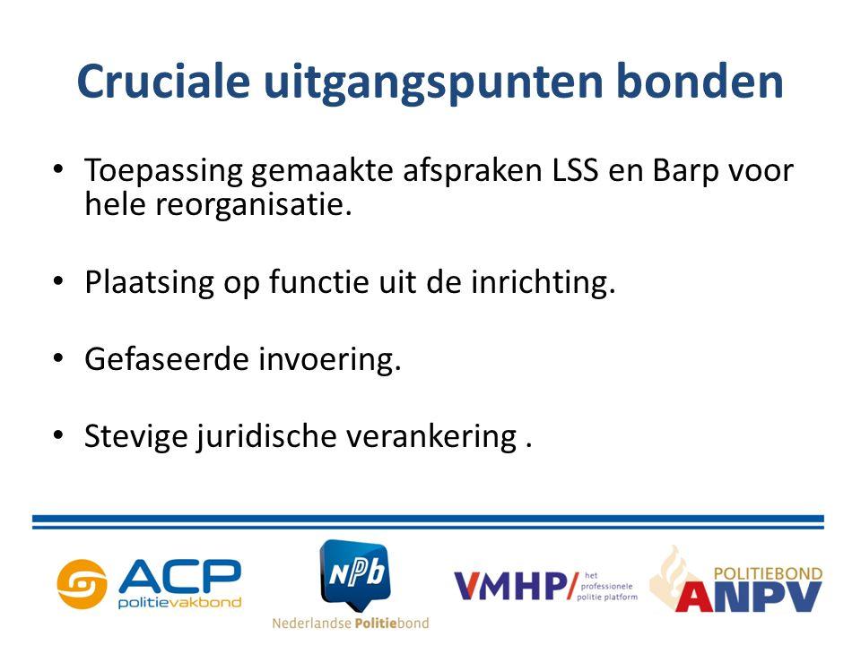 Overeenstemming: hoofdlijnen Gefaseerde invoering: voorfase: flankerende voorzieningen t.b.v.