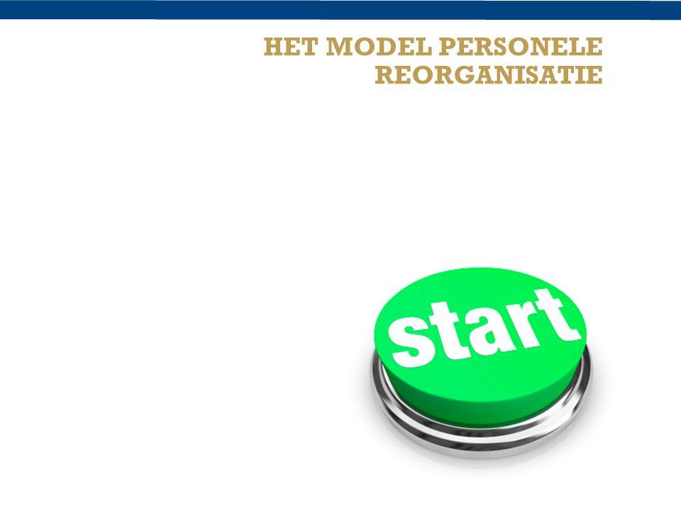 3 HET MODEL PERSONELE REORGANISATIE