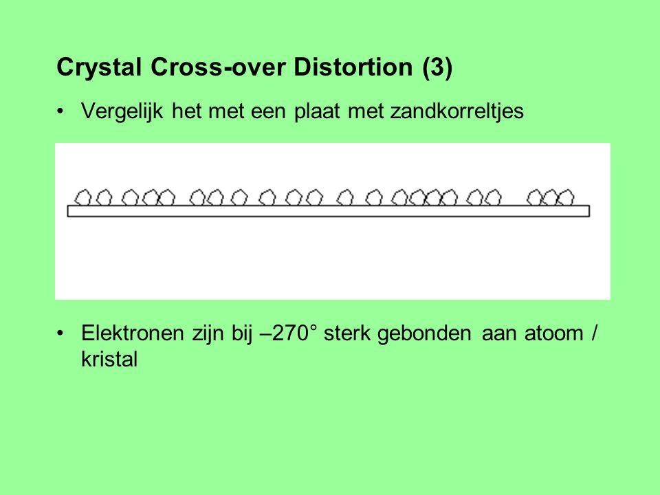 Toch klopt het wel...... Bij bij zo'n 270° onder nul Crystal Cross-over Distortion (2)