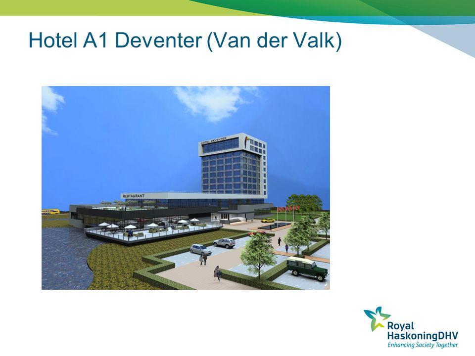 Plangrens Bufferzone Bufferzone (EVZ) Wonen Bedrijfsbestemming Kantoorbestemming Overzicht A1 Deventer