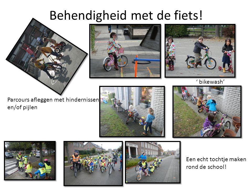 Wat deden we zoal…..Met 'chipskes' fietsjes maken Wat vind je van ons parcours.