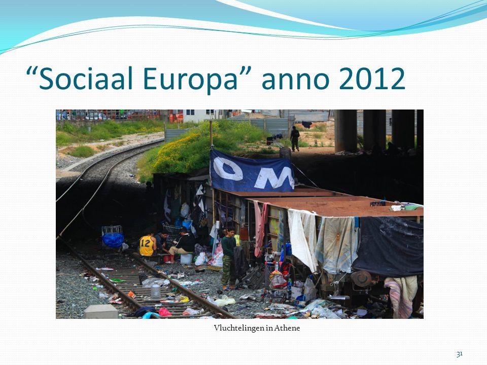 """Sociaal Europa"" anno 2012 31 Vluchtelingen in Athene"