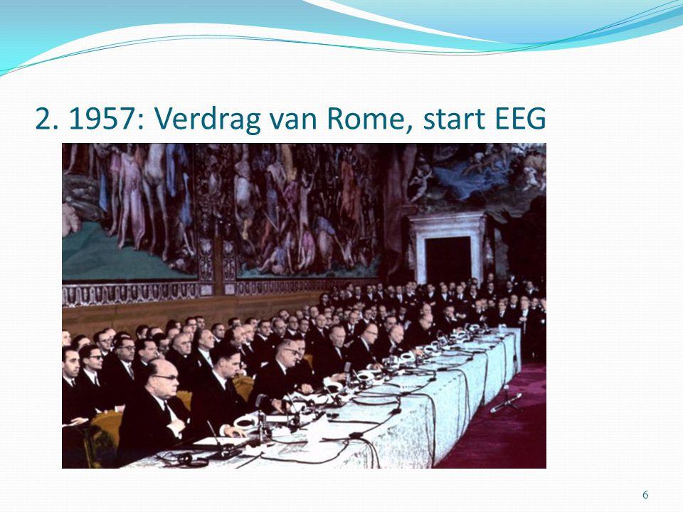 2. 1957: Verdrag van Rome, start EEG 6