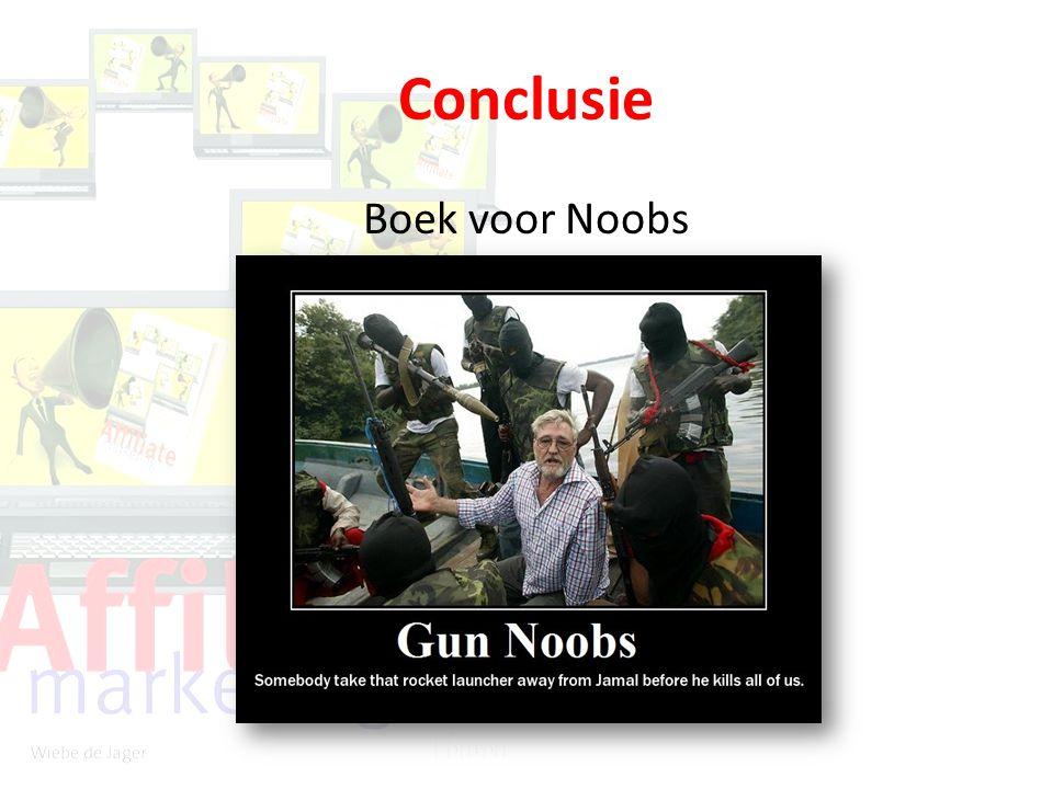 Conclusie Boek voor Noobs