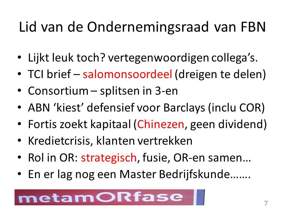 De doelstelling van mijn onderzoek: Het formuleren van aanbevelingen aan ondernemingsraden in Nederland, om de overgang van medezeggenschap in een fusie of overname, beter onderbouwd en meer gestructureerd uit te kunnen voeren.