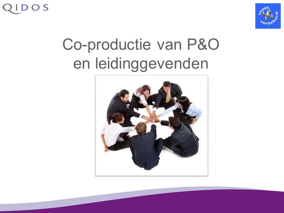 Co-productie van P&O en leidinggevenden