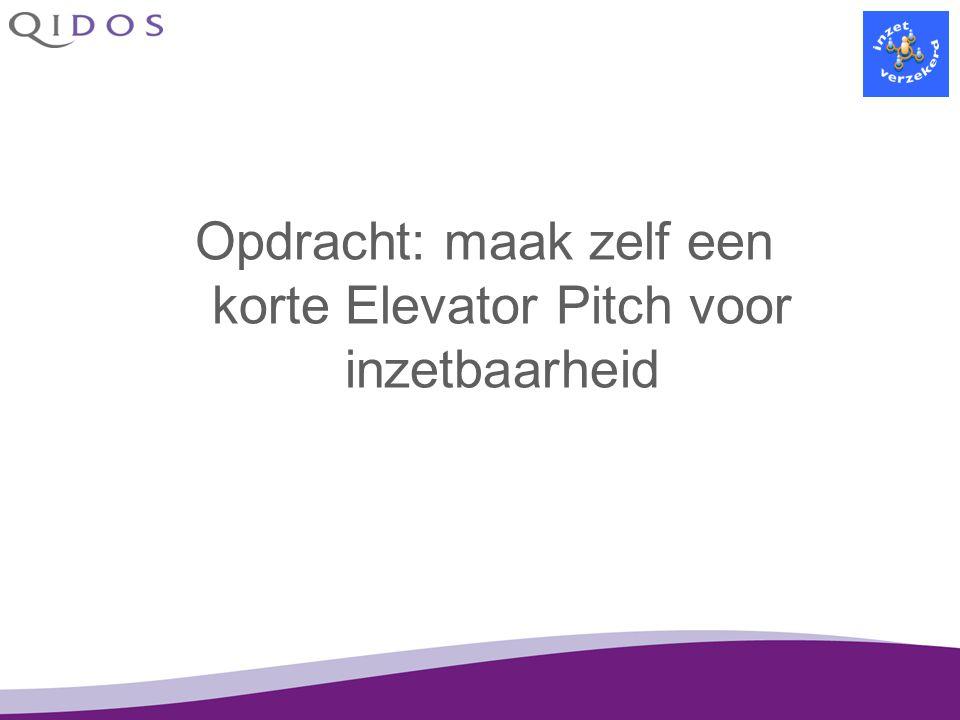 De filmpjes van Warner en Pauline http://www.inzetverzekerd.nl/Films-over-medewerkers-uit-de-ve.330.0.html Beantwoord de volgende vragen: Op welke manier werken ze aan hun inzetbaarheid.