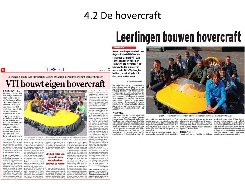 4.2 De hovercraft