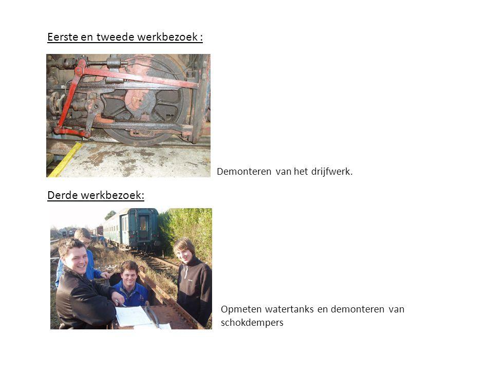 Vierde werkbezoek: Het ontvetten van het chassis ter voorbereiding van het zandstralen.