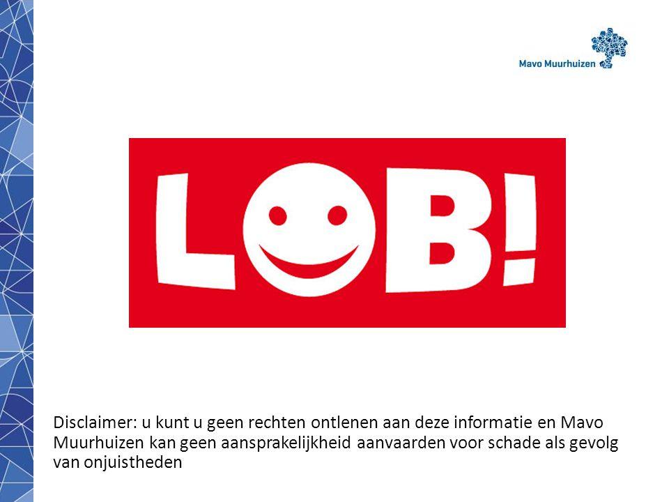 disclaimer19 LOB Loopbaan Oriëntatie & Begeleiding 'Digitaal Doorstroom Dossier';