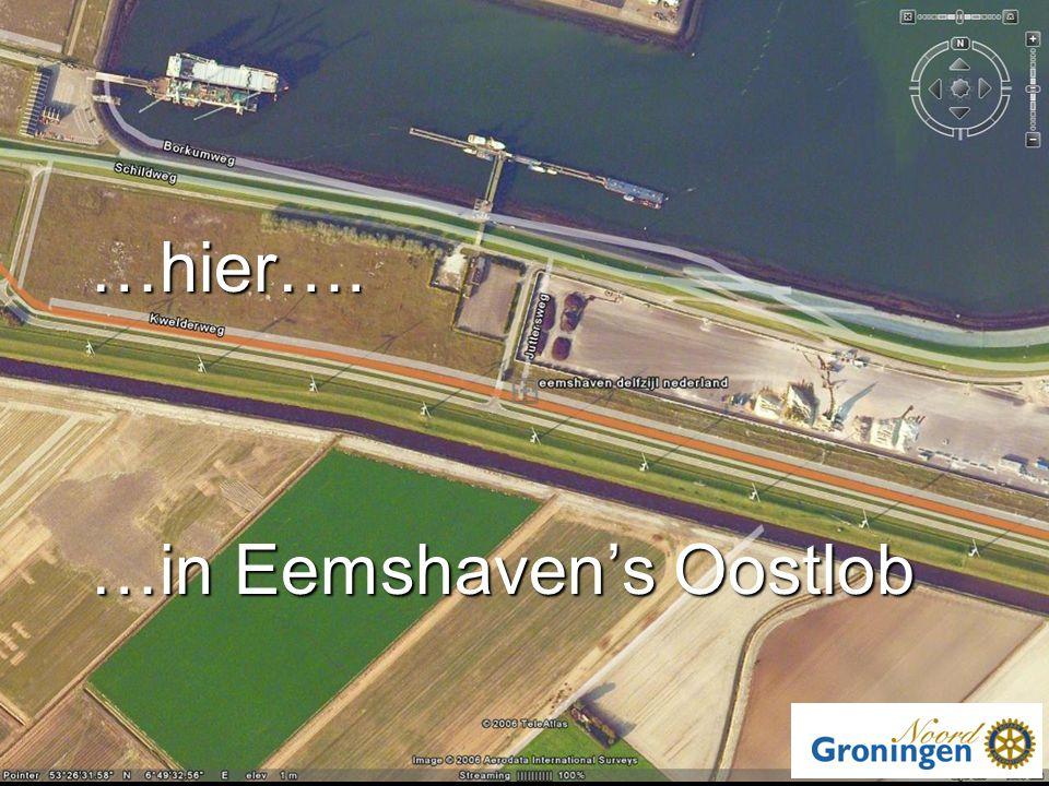 …hier…. …in Eemshaven's Oostlob