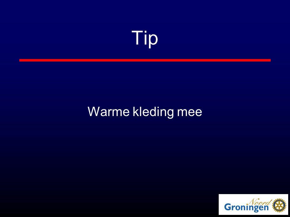 Tip Warme kleding mee