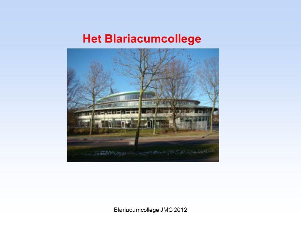Het Blariacumcollege Blariacumcollege JMC 2012