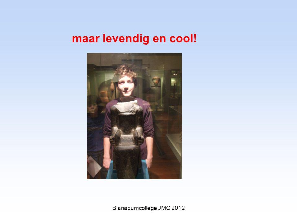 maar levendig en cool! Blariacumcollege JMC 2012