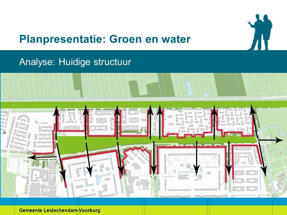 Gemeente Leidschendam-Voorburg Planpresentatie: Groen en water Visie Heuvelweg: Variant Groene Randen, voorkeursmodel gemeente