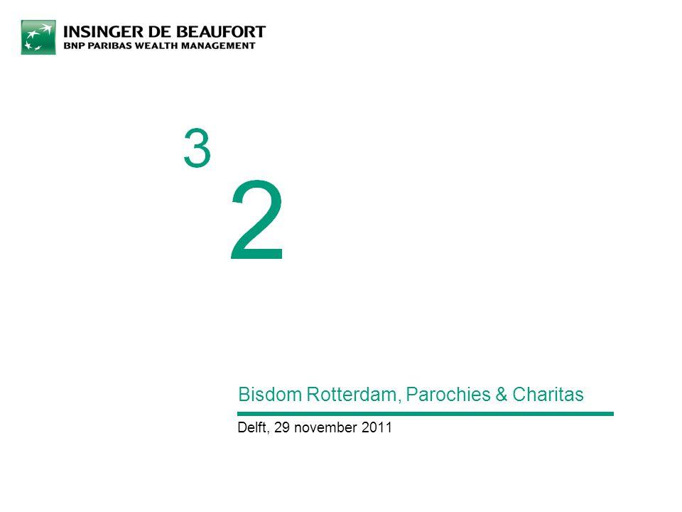 Bisdom Rotterdam, Parochies & Charitas Delft, 29 november 2011