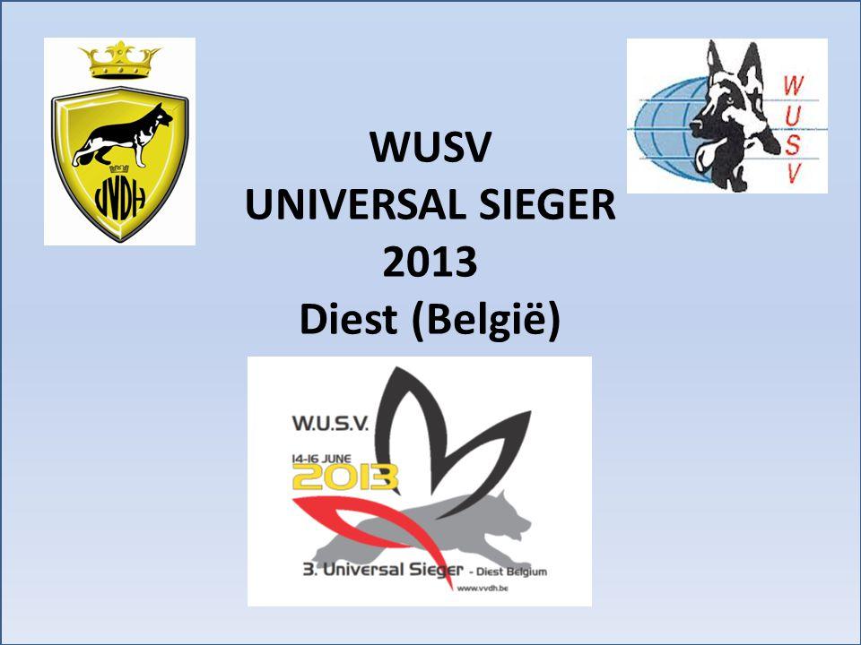 WUSV UNIVERSAL SIEGER 2013 Diest (België)