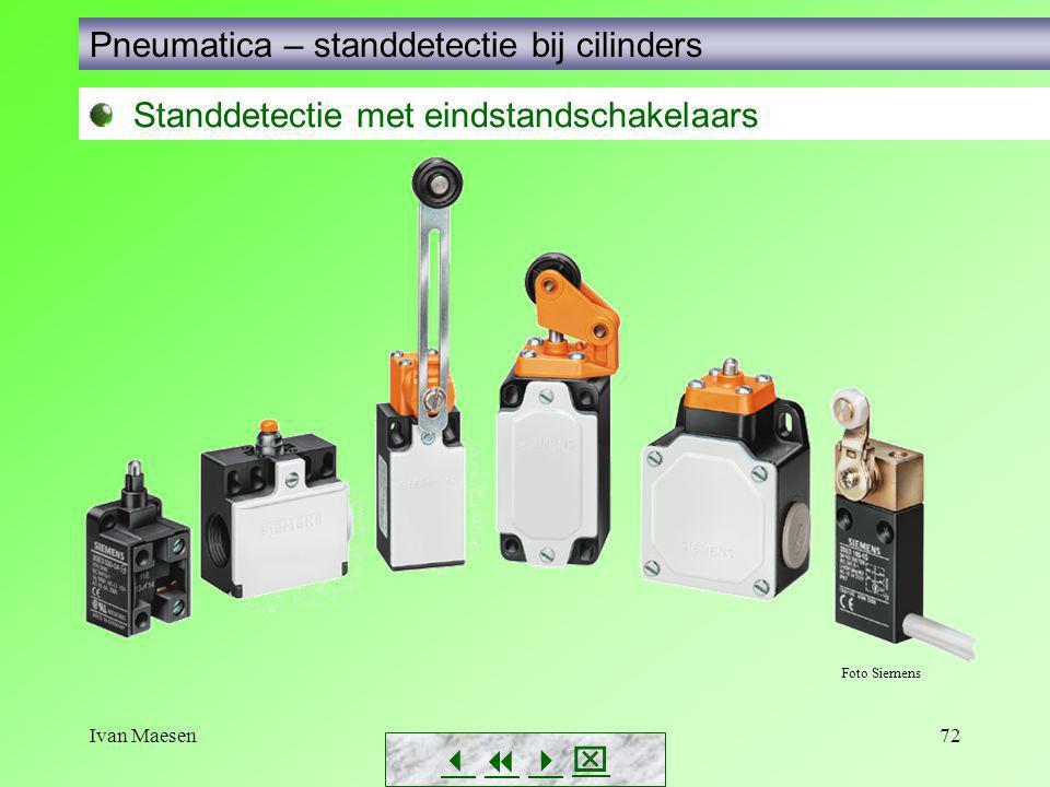 Ivan Maesen72        Standdetectie met eindstandschakelaars Foto Siemens Pneumatica – standdetectie bij cilinders