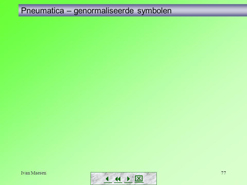 Ivan Maesen77        Pneumatica – genormaliseerde symbolen