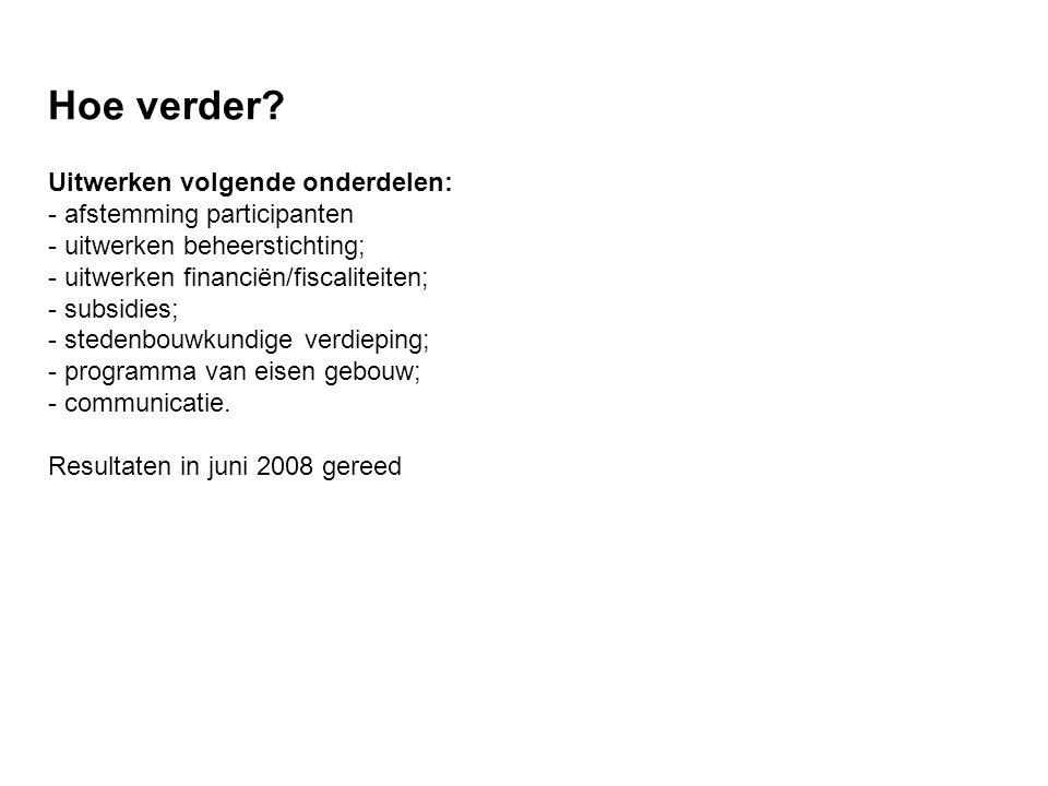 Instemmig van dorp over ideeën en plannen Wensen/suggesties: