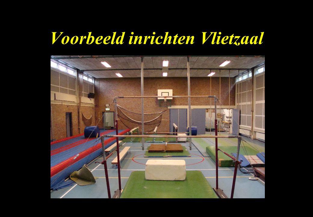 Voorbeeld inrichten Vlietzaal