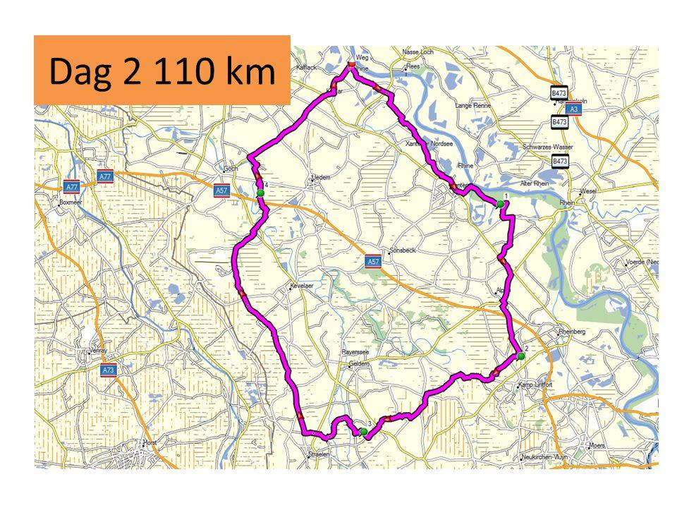 Dag 2 110 km