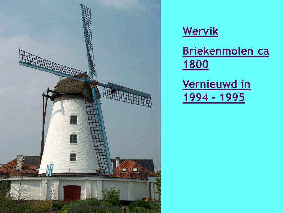 Werken Kruisstraatmolen 1773 Vernieuwd in 1921