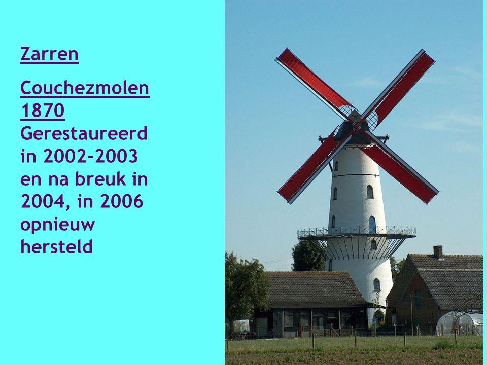 Wevelgem Vanbutselesmolen 1851 Hersteld 1i996- 1997.
