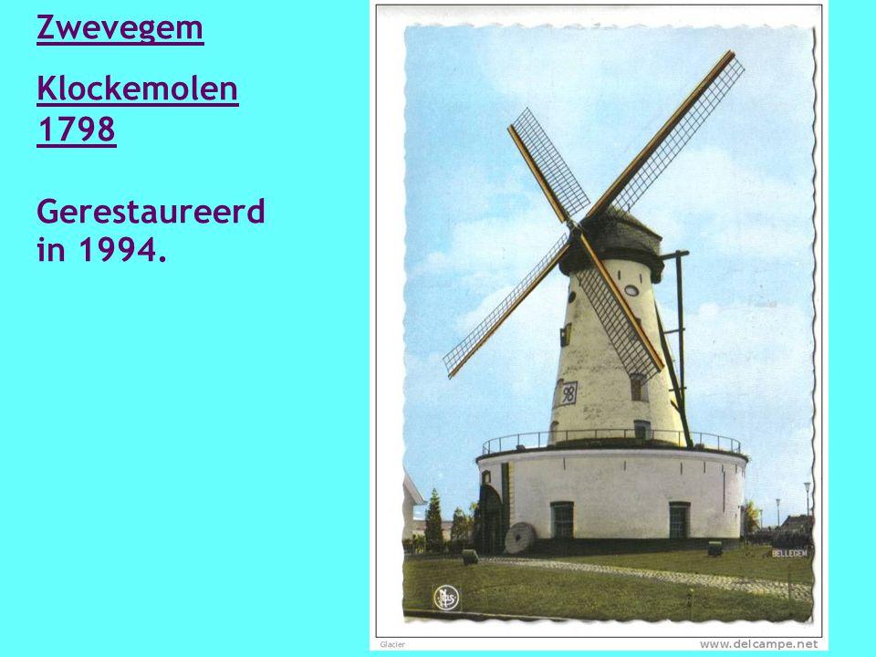 Zwevegem Mortiers molen 1794 Hersteld 1993 - 1994