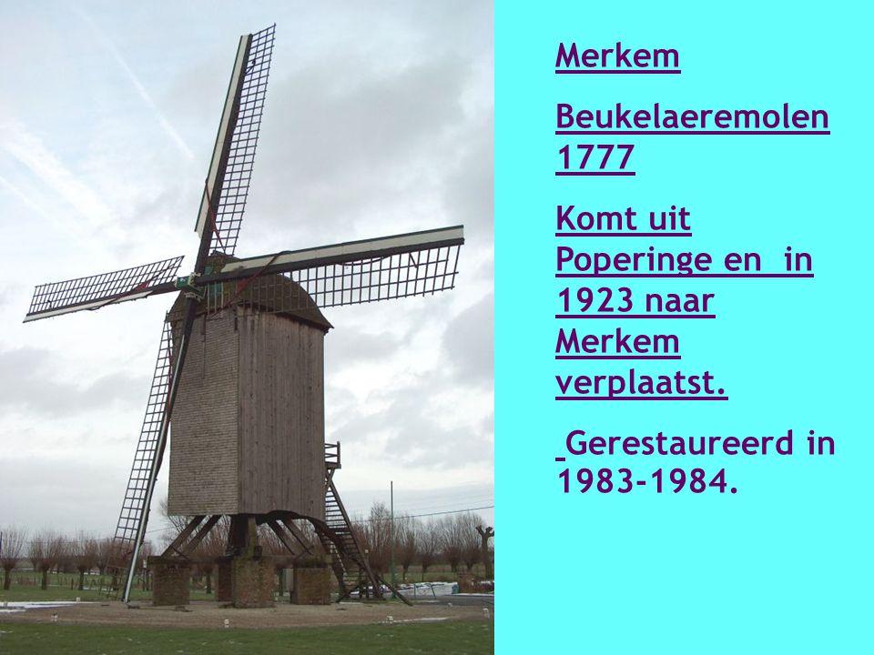 Menen Molen de Goede Hoop 1798 Hersteld in 1993 - 1995