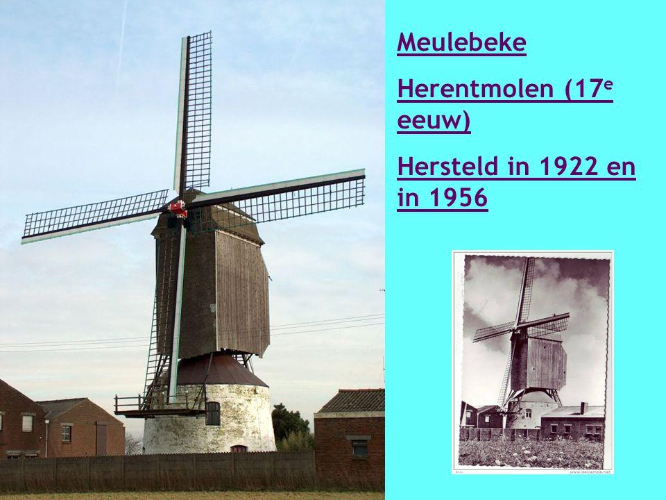 Merkem Beukelaeremolen 1777 Komt uit Poperinge en in 1923 naar Merkem verplaatst.