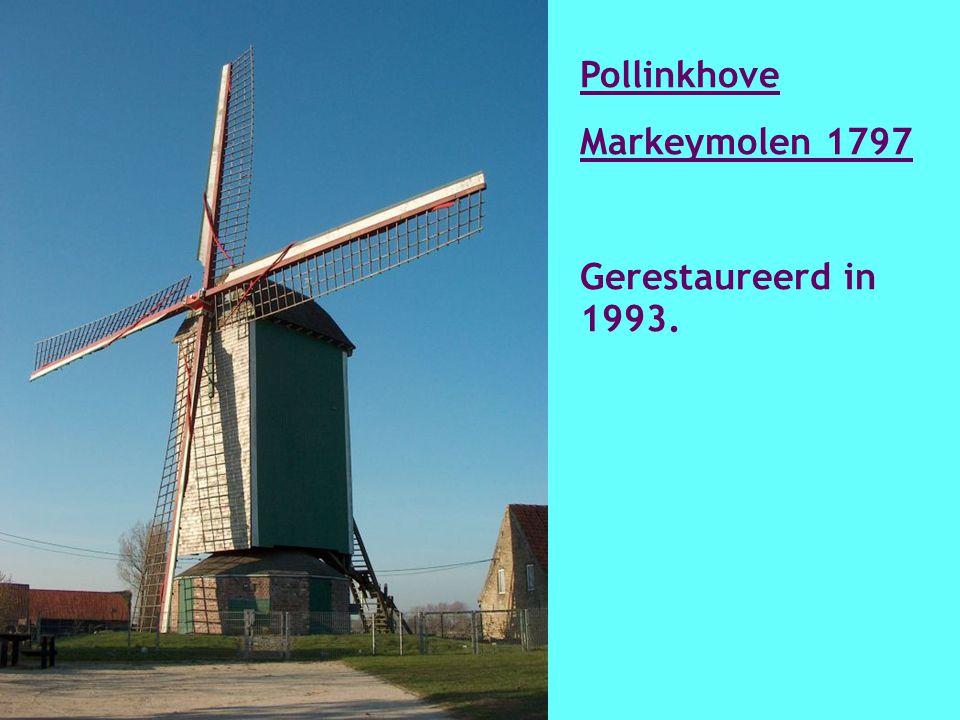Outrijve Tombeelmolen 1923 Hersteld in 1999-2000.