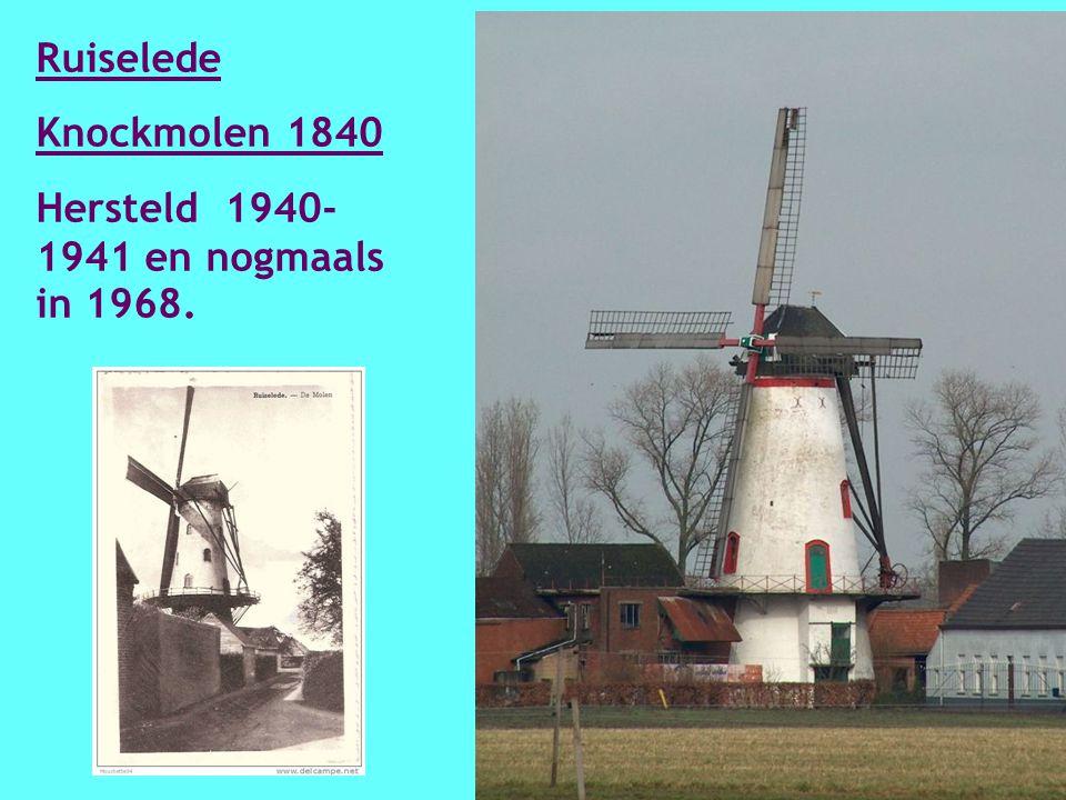 Ramskapelle/Heist Callantsmolen 1897 Hersteld in 2002- 2004.