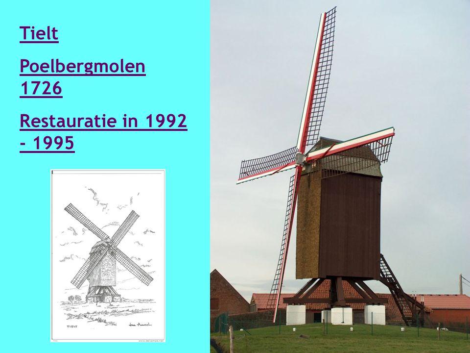 Ruiselede Knockmolen 1840 Hersteld 1940- 1941 en nogmaals in 1968.