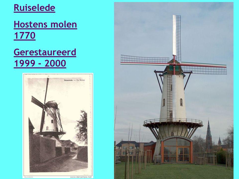 Roksem Witte molen 1835 Gerestaureerd in 2003