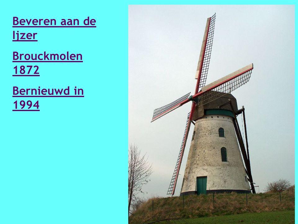 Rumbeke Kazandmolen 1773 Vernieuwd in 1813 en nogmaals vernieuwd in 2006 - 2007