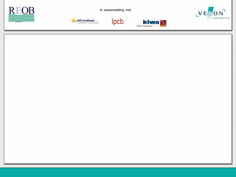 In samenwerking met: Registratie bij onderhoud REOB:2008REOB:2005 Registratie van onderhoudsstappen.