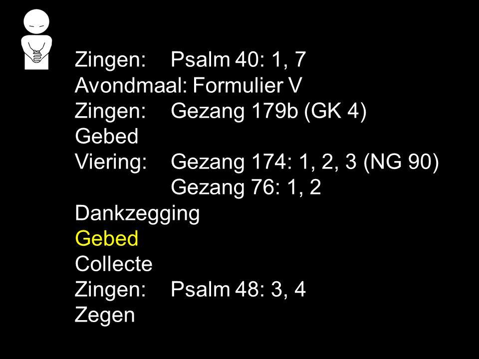 COLLECTE Vandaag: de 1e collecte is voor de Kerk de 2e collecte is voor Theologische Universiteit Volgende week: de 1e collecte is voor de Kerk de 2e collecte is voor de Kerk bijdrage kerkverband Na de collecte zingen we: Psalm 48: 3, 4