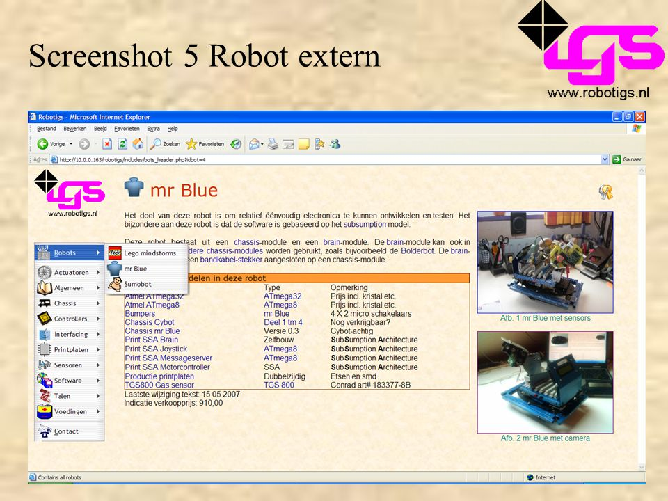Screenshot 5 Robot extern